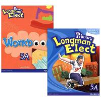 华研原版 培生香港朗文小学英语教材5a全套 英文原版 Primary Longman Elect 5A 学生用书+练习