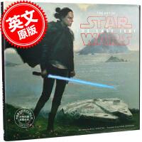 现货 星球大战8:最后的绝地武士 英文原版 电影艺术画册 设定集 The Art of Star Wars: The