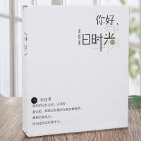 插页式家庭相册影集本大容量5寸6寸7寸纪念册五六七寸大本混合装