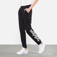 Adidas阿迪达斯 女裤 NEO运动裤休闲加绒保暖长裤 DM4143