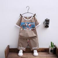 男童夏装新款套装夏季童装儿童短袖帅气小男孩宝宝衣