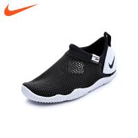 【到手价:229元】耐克nike童鞋18夏新款男童运动鞋大童单网鞋跑步鞋(8-12岁可选) 943758 003