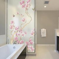 中式窗户贴纸窗花贴透光不透明客厅卫生间淋浴房玻璃贴纸