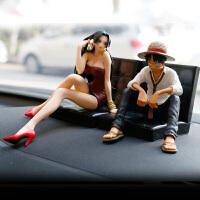汽车摆件车内饰品摆件手办创意可爱美少女车上中控台装饰车载用品