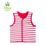 迪士尼 婴儿衣服上衣男女宝宝双面纯棉小马甲153S702
