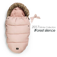 婴儿羽绒睡袋两用宝宝睡袋外出新生儿抱毯抱被加厚秋冬季婴儿用品