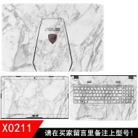 华硕笔记本外壳膜FZ50V T303U A456U A556U B400A UX410 贴膜贴纸