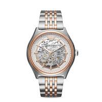 阿玛尼(EmporioArmani)手表钢制表带经典时尚休闲机械男士时尚腕表AR60002