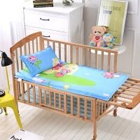 儿童幼儿园床垫褥子午睡宝宝小号垫子全棉床上用品薄厚棉花丝绵芯