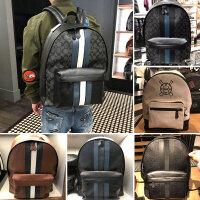 美国正品COACH蔻驰男包背包电脑包商务旅行包男士双肩包男生书包