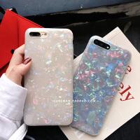 镭射亮片iPhone6手机壳 plus防摔软壳6s保护壳X潮女时尚壳