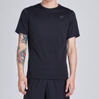 NewBalance/新百伦男装短袖T恤针织休闲透气套头衫AMT83047