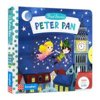 小飞侠彼得潘 英文原版绘本 Peter Pan First Stories 童话篇操作机关书 BUSY系列 亲子互动故