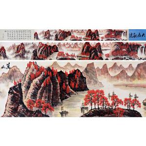 李可染《山水手卷》DD22