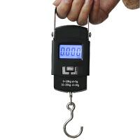 创意家用高精度电子称 50公斤便携式电子称厨房秤弹簧秤 高精度快递秤迷你型电子秤挂秤
