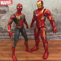 复仇者联盟3漫威周边钢铁侠蜘蛛侠玩具黑豹美国队长蚁人模型