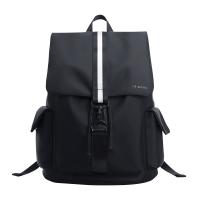 韩版双肩包男士休闲旅行包大容量新款学生书包电脑包时尚潮流背包 62043黑色