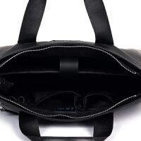 新款男包男士手提包单肩包斜挎包包韩版牛皮公文包电脑包