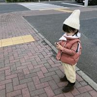 男童女童棉衣2018新款宝宝冬装马甲儿童加厚背心外套