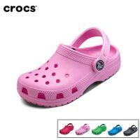 Crocs卡骆驰童鞋经典小克骆格男女儿童夏季平底洞洞鞋凉鞋|204536