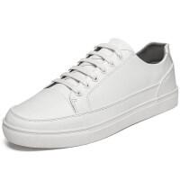 特大码小白鞋45韩版潮流男士运动休闲鞋46白色板鞋男47学生白鞋子