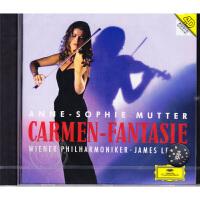 现货【中图音像】穆特-流浪者之歌&卡门幻想曲 小提琴CD 4375442