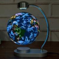 发光自转磁悬浮地球仪台灯学生创意礼品礼物办公室书房教学摆件