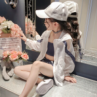 童装女童夏装新款韩版中大童时尚夏季防晒三件套洋气时髦套装