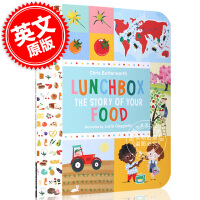 现货 午餐盒:食物的故事 英文原版 Lunchbox:The Story of Your Food 绘本故事 儿童读物