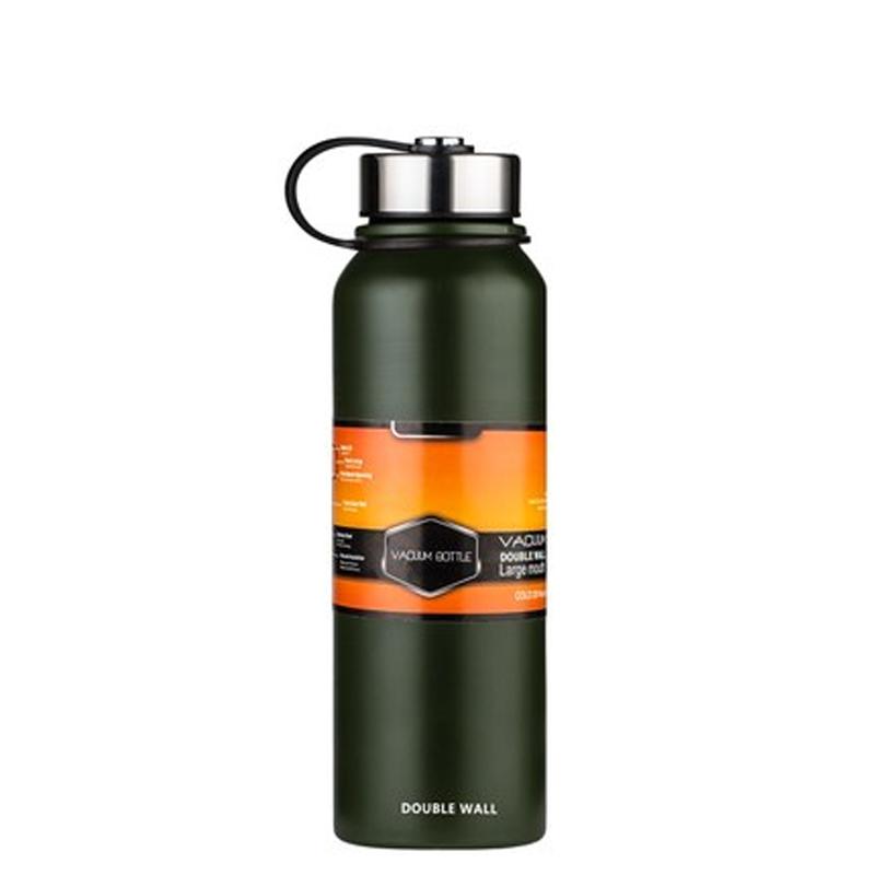 户外运动水壶便携军用水壶保温茶杯大容量1000ml