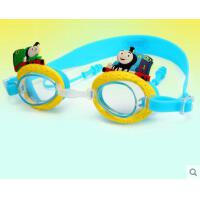 卡通护目镜托马斯泳镜儿童游泳眼镜男童宝宝高清防水防雾小孩戴耳塞