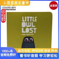 #英文绘本 原版进口 Little Owl lost 小小迷路了 克里斯 霍顿 [2-5岁]