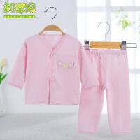 宝宝空调服长袖婴儿衣服秋冬新生儿内衣套装纯棉睡衣两件套2620