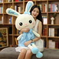 ?兔子布娃娃睡觉抱韩国大号女孩公主可爱小萝莉洋娃娃毛绒娃娃玩偶