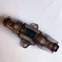 汽车音响保险座 一出一透明保险管 改装连接电源线主机功放低音炮 t
