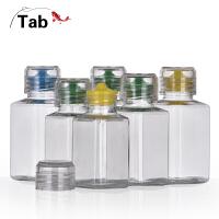 Tab钓鱼小药瓶液体 竞技塑料瓶分装瓶 透明饵料瓶 密封瓶 粉剂瓶
