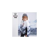 诺诗兰童装儿童滑雪服2019新款男童户外防风防水保暖透气大童衣服