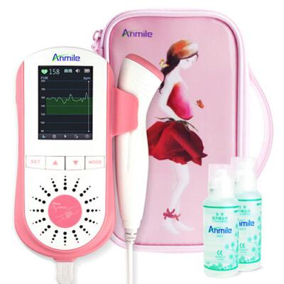 胎心仪家用孕妇多普勒听胎心监测仪低辐射听诊器F60 轻巧时尚 音质清晰 数据存储