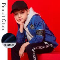 铅笔俱乐部童装男童秋装休闲外套2018新款儿童棒球服夹克中大童潮