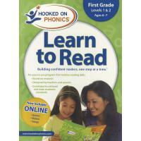 [现货]Hooked on Phonics Learn to Read, First Grade, Levels 1