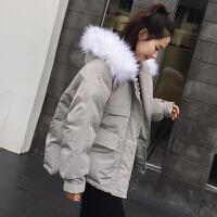 棉衣女短款冬装韩版ins面包服宽松bf学生棉袄外套女