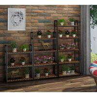 铁艺花架多层欧式阳台花盆架室内客厅绿萝多肉植物架落地式花架