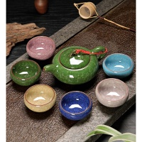 陶瓷茶具套装 功夫茶具盖碗茶杯茶壶整套青花瓷茶碗茶海家用