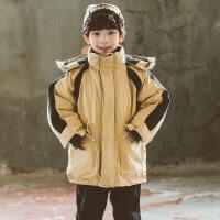 №【2019新款】冬天儿童穿的男童冬装洋气中大童装儿童羽绒棉衣男孩加厚棉袄外套