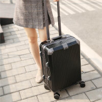 万向轮行李箱女皮箱拉杆箱男潮密码个性涂鸦24寸铝框箱子20旅行箱