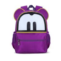 小疯子 小学生书包双肩背包卡通幼儿园儿童背包书包LOGO