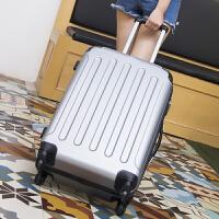 行李箱男女拉杆箱旅行箱包密码皮箱子潮青年学生万向轮韩版小清新SN1725 奢华银 包角加固静音轮