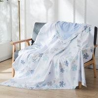 毛巾被纯棉单人双人毛毯夏季薄款空调毯毛巾毯午睡毯儿童小毯子