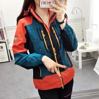 韩版户外冲锋衣男女两件套三合一防水防风保暖冬季登山滑雪服