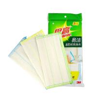 [当当自营]3M 思高易洁8层耐用型抹布 天然材质清洁布3片装 洗碗布洗刷布不沾油 5包装